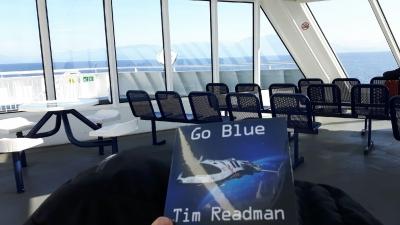 Ferry straight across the Georgia